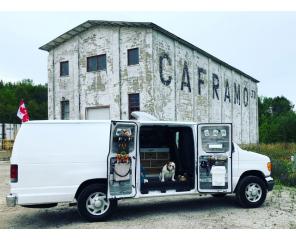 VanCity VanLife Visits Caframo